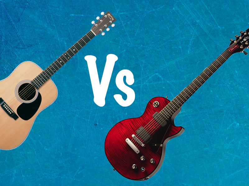 Electric Guitar vs Acoustic Guitar ? The Best Guitar For Beginners