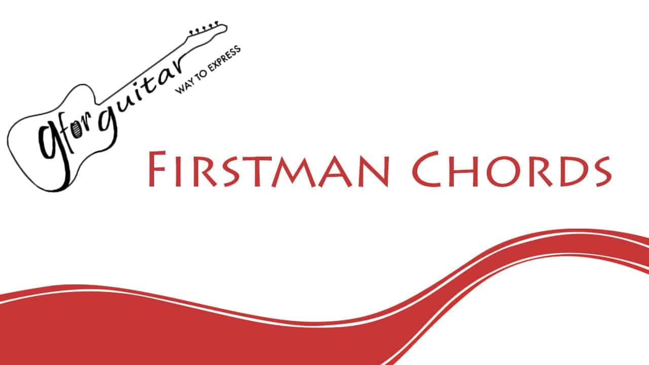 firstman chords