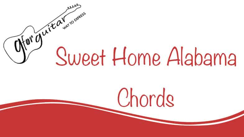 sweet home alabama chords